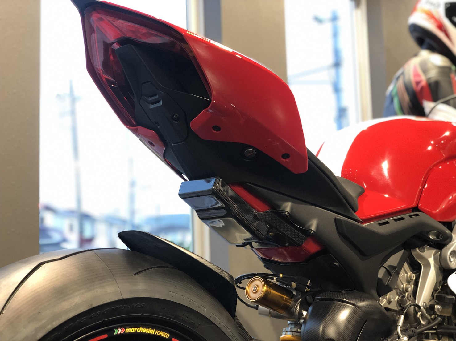 PANIGALE V4用ETCケースキット